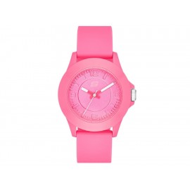 Reloj para dama Skechers Rosencrans Midsize SR6022 fucsia - Envío Gratuito