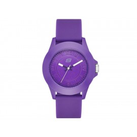 Reloj para dama Skechers Rosencrans Midsize SR6026 morado - Envío Gratuito