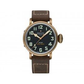 Reloj para caballero Zenith Pilot 29.2430.679/21.C753 café - Envío Gratuito