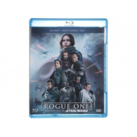 Rogue One: Una Historia de Star Wars Blu-Ray + DVD - Envío Gratuito