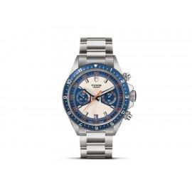 Tudor Heritage Chronograph Blue M70330B-0001 Reloj para Caballero Color Acero - Envío Gratuito