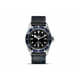 Tudor Heritage Black Bay M79220B-0002 Reloj para Caballero Color Azul Avejentada - Envío Gratuito