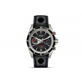 Tudor Grantour M20550N-0001 Reloj para Caballero Color Negro - Envío Gratuito