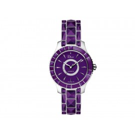 Dior Dior Christal CD144512M001 Reloj para Dama Color Violeta - Envío Gratuito