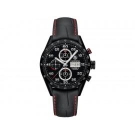 Tag Heuer Carrera CV2A81.FC6237 Reloj para Caballero Color Negro - Envío Gratuito