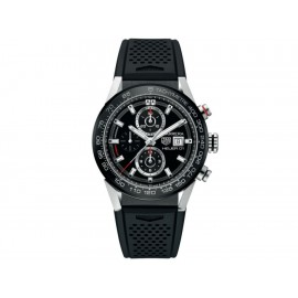Tag Heuer Carrera CAR201Z.FT6046 Reloj para Caballero Color Negro - Envío Gratuito