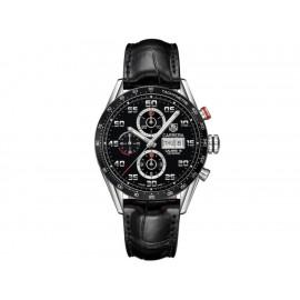 Tag Heuer Carrera CV2A1R.FC6235 Reloj para Caballero Color Negro - Envío Gratuito