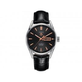 Tag Heuer Carrera WAR201C.FC62662 Reloj para Caballero Color Negro - Envío Gratuito