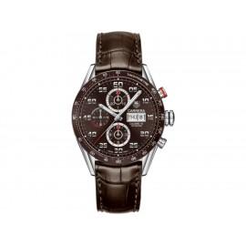 Tag Heuer Carrera CV2A1S.FC6236 Reloj para Caballero Color Café - Envío Gratuito