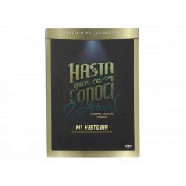 Hasta que te conocí: Juan Gabriel Mi historia DVD Edición de colección - Envío Gratuito