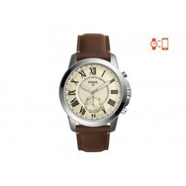 Smartwatch para caballero Fossil Q Grant FTW1118 café - Envío Gratuito