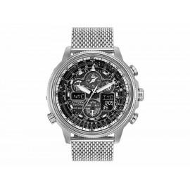 Reloj para caballero Citizen Navihawk A-T Drive 60524 acero - Envío Gratuito