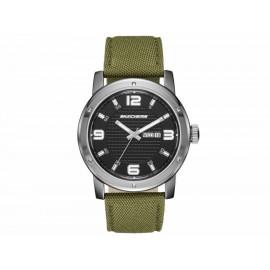 Reloj para caballero Skechers Neutral Canvas Strap SR5089 verde - Envío Gratuito