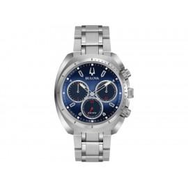 Bulova 98A157 CURV Reloj para Caballero Color Plata - Envío Gratuito