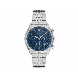 Armani Zeta AR1974 Reloj para Caballero Color Plata - Envío Gratuito