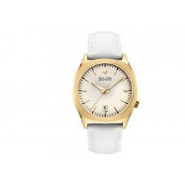 Bulova Accutron II 97B131 Reloj para Caballero Color Blanco - Envío Gratuito