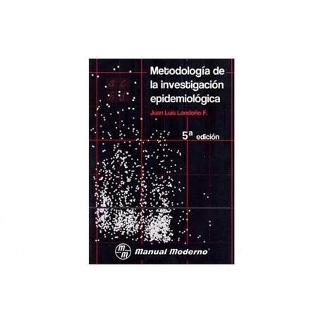 Metodología De La Investigación Epidemiológica - Envío Gratuito