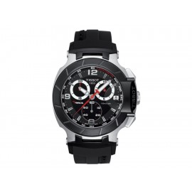 Tissot T-Race T0484172705700 Reloj para Caballero Color Negro - Envío Gratuito