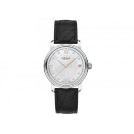 Montblanc Tradition Date Automatic 114957 Reloj para Dama Color Negro - Envío Gratuito