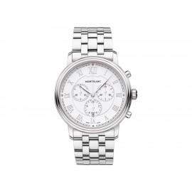 Montblanc Tradition 114340 Reloj para Caballero Color Acero - Envío Gratuito