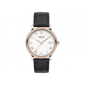 Montblanc Tradition 114336 Reloj para Caballero Color Negro - Envío Gratuito