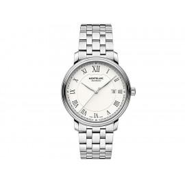 Reloj unisex Mont Blanc Tradition 112610 acero - Envío Gratuito