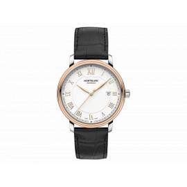 Montblanc Tradition Date Automatic 114336 Reloj para Caballero Color Negro - Envío Gratuito