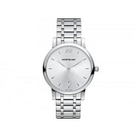 Reloj para caballero Mont Blanc Star 108768 acero - Envío Gratuito