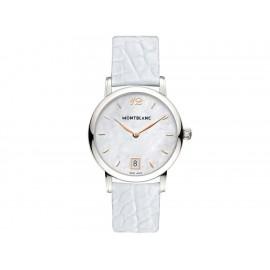 Reloj para dama Montblanc Star Classique 108765 blanco - Envío Gratuito