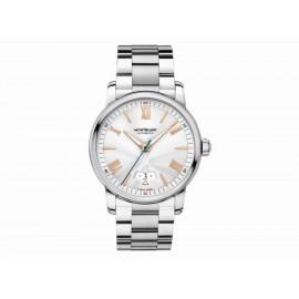 Montblanc Date Automatic 114852 Reloj para Caballero Color Plata - Envío Gratuito