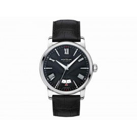 Montblanc 4810 Date Automatic 115122 Reloj para Caballero Color Negro - Envío Gratuito