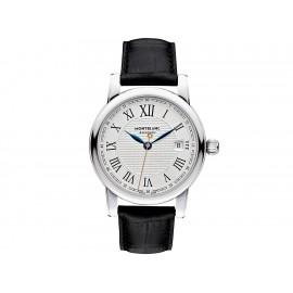 Montblanc Star Roman Collection 113644 Reloj para Caballero Color Negro - Envío Gratuito