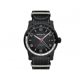 Reloj unisex Montblanc Timewalker 113828 negro - Envío Gratuito
