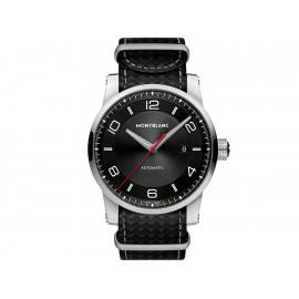 Reloj para caballero Montblanc Timewalker 113850 negro - Envío Gratuito