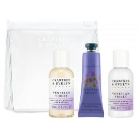Set de baño Crabtree & Evelyn Venetian Violet - Envío Gratuito
