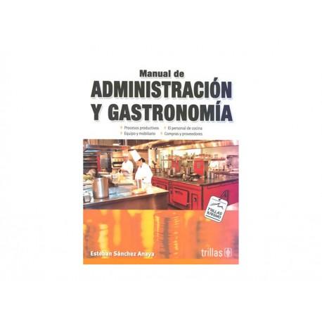 Manual de Administración y Gastronomía - Envío Gratuito