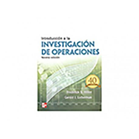 Introducción a La Investigacion de Operaciones - Envío Gratuito