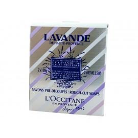 L'Occitane Jabones Pre-Cortados Lavanda 2 x 100 g - Envío Gratuito