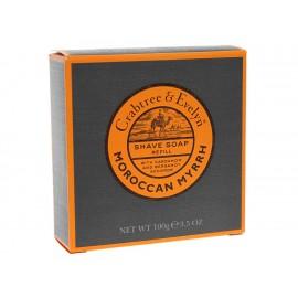 Jabón Refill para Afeitar Moroccan Myrrh para Caballero Crabtree & Evelyn 100 g - Envío Gratuito