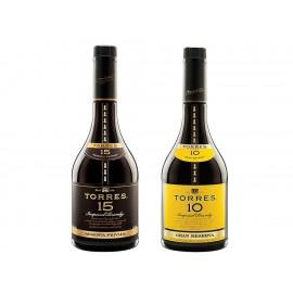 Paquete Especial 2 Botellas de Torres 15 con un Torres 10 de regalo - Envío Gratuito