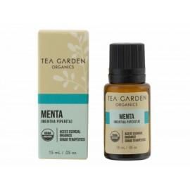 Aceite esencial orgánico Tea Garden Organics Menta 15 ml - Envío Gratuito