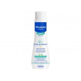 Aceite de baño para piel atopica Mustela Stelatopia 200 ml - Envío Gratuito