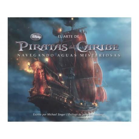 El Arte de Piratas del Caribe Navegando Aguas Misteriosas - Envío Gratuito