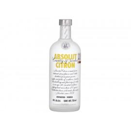 Caja de Vodka Absolut Citron 750 ml - Envío Gratuito