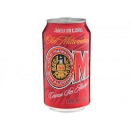 Paquete de 12 Cervezas Old Milwaukee 355 ml - Envío Gratuito