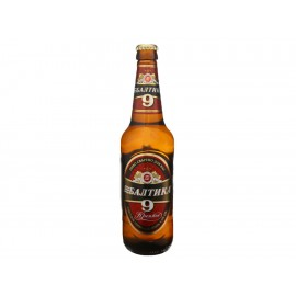 Paquete de 6 Cervezas Baltika No. 9 - Envío Gratuito