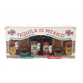 Tequila es México con 10 Botellines - Envío Gratuito