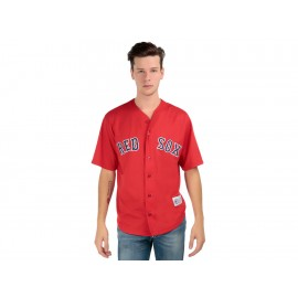 Jersey Majestic Boston Red Sox para caballero - Envío Gratuito