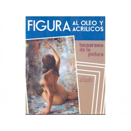 Figura Al Oleo Y Acrílicos - Envío Gratuito