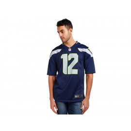 Jersey Nike NFL Seattle Seahawks Fan 12 para caballero - Envío Gratuito